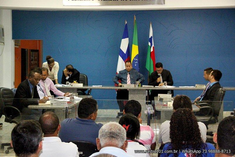 Primeira sessão do ano foi realizada no dia 20 de fevereiro, onde foi votado a alteração do horário das sessões. (Foto Rastro101)