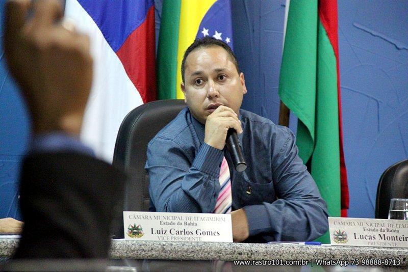 Para o presidente da Câmara, Lucas Monteiro, mudança de horário facilita a participação da população durante as sessões. (Foto: Rastro101)