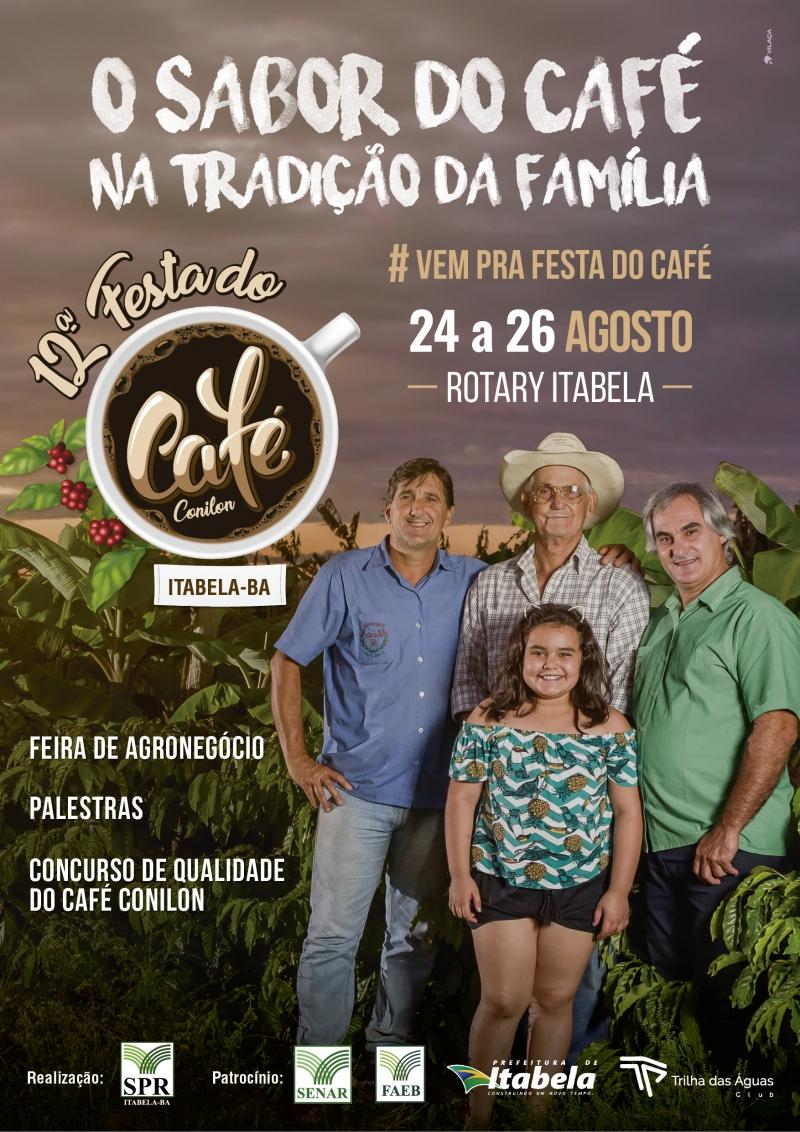 Em sua 12ª edição, a festa está consolidada na região como uma oportunidade de negócios, estudo e valorização do trabalho dos produtores de café da região. (Divulgação)