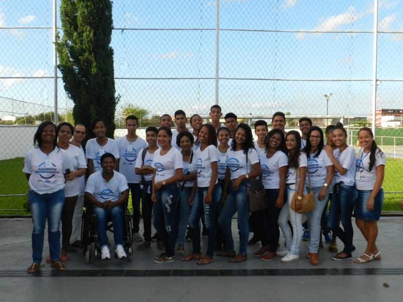 O evento contou com a presença dos alunos e familiares, gestores da Veracel Celulose, representantes do SENAC e da prefeitura municipal de Eunápolis. (Imagem: Divulgação)