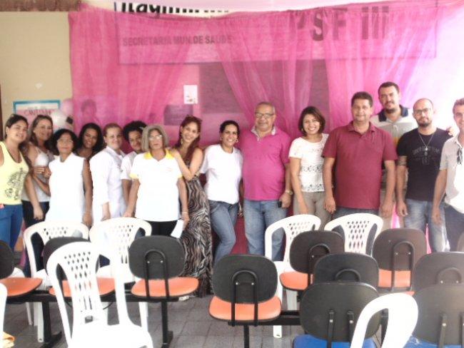 Equipe da Secretaria Municipal de Saúde de Itagimirim. (Foto: ASCOM)