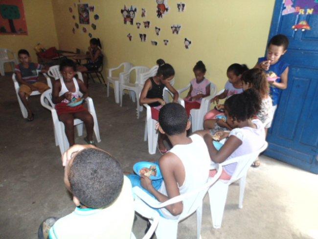 Foi um dia recreativo, com muita diversão e aprendizado para as crianças. (ASCOM)