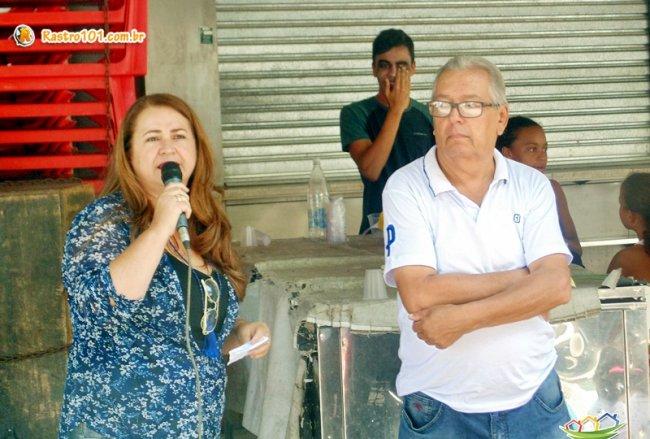 Não é uma data para ser comemorada e sim, lembrada, destaca a secretária municipal de Desenvolvimento Social, Wanderléia Santos. (ASCOM)