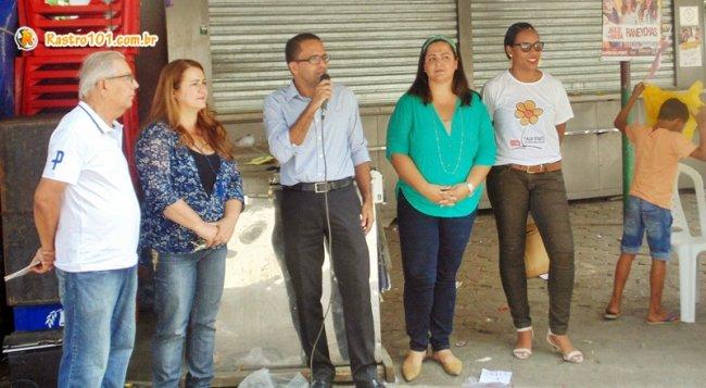 Evento contou com a participação do promotor de Justiça Helber Batista. (ASCOM)