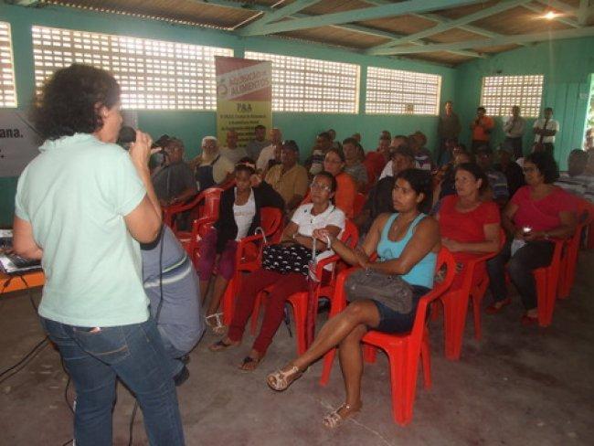 O Projeto Agrovida é um programa de agricultura familiar voltado para a produção de alimentos para consumo da própria comunidade. (Foto: ASCOM)