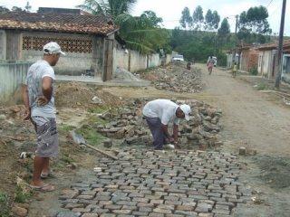 Obras foram retomadas. (Foto: ASCOM)