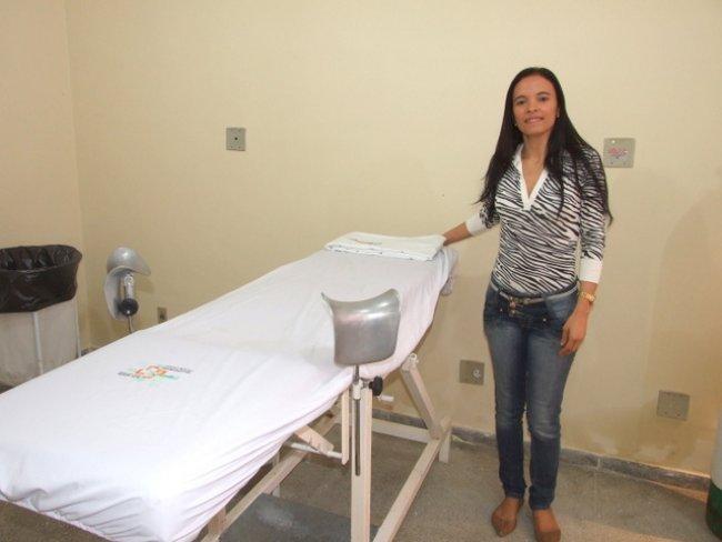 População dispõe de atendimento médico todos os dias, conforme afirma a diretora do hospital local, Leila Graciela (Divulgação)