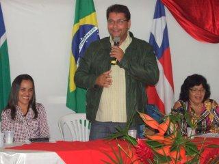Rogério elogiou a equipe pela organização do evento e pediu a todos que mantivessem as presenças durante todo o tempo destinado à elaboração da Conferência. (Foto: ASCOM)