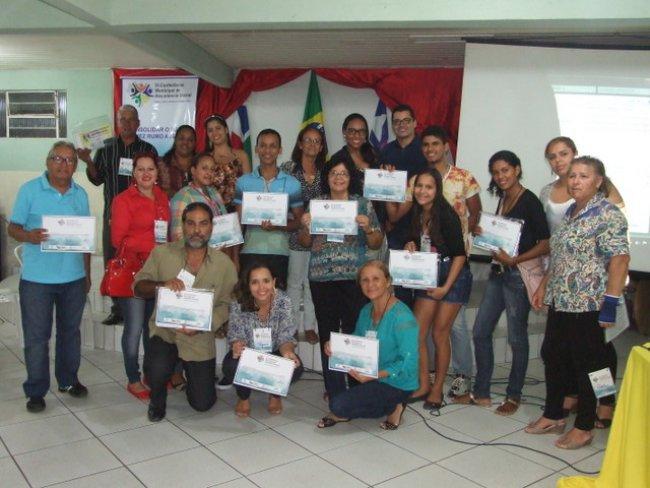Equipe da Assistência Social. (Foto: ASCOM)