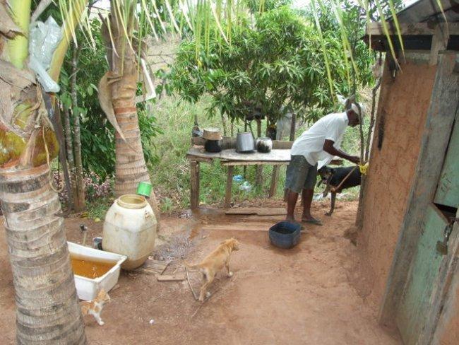 Jornalista fará levantamento sobre os manaciais de água em Itagimirim. (Foto: Gil Rocha)