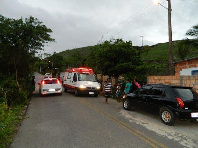Crime aconteceu na cidade baixa, centro histórico de Itapebi. (Foto: Arnaldo Alves/Itapebiacontece)
