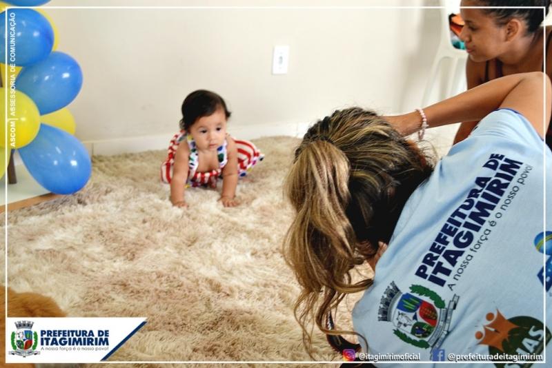 Objetivo da ação é fortalecer o vínculo afetivo entre a mãe e o bebê, além de conceder um registro fotográfico de um dos momentos mais marcantes e especial para a família, que é a primeira infância. (Ascom-Itagimirim)