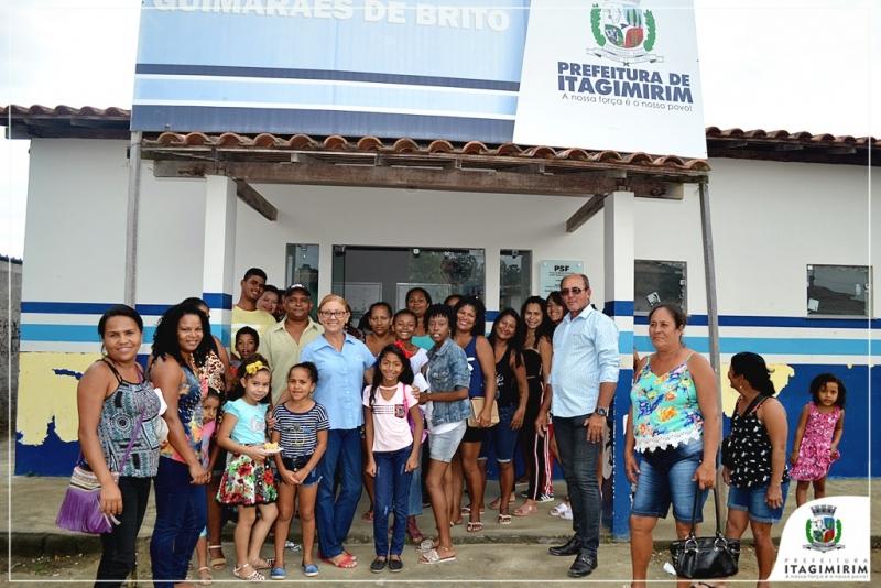 Procedimentos foram realizados na Unidade de Saúde Judith Guimarães de Brito, no Bairro Norberto Fernandes. (Ascom-Itagimirim)