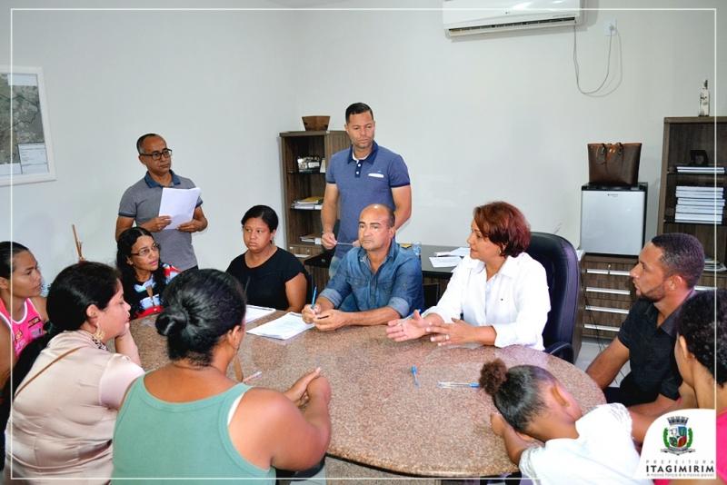O evento contou com a presença da Prefeita Devanir Brillantino e de secretários municipais. (Ascom-Itagimirim)