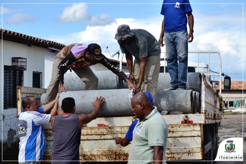 A obra vai proporcionar uma melhor qualidade de vida à aproximadamente 80 famílias residentes no local. (Divulgação)<br />