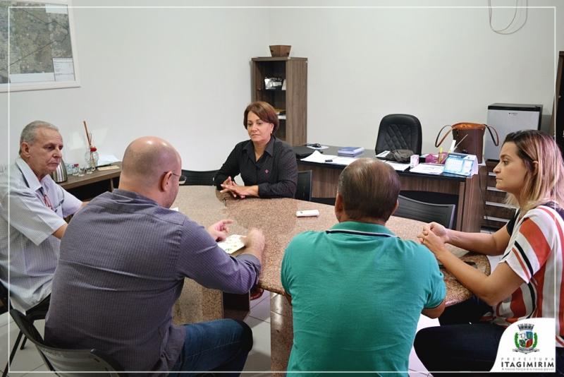 O Diretor do Hospital das Clinicas, senhor José Abílio Prates participou do ato de assinatura do convênio. (Ascom-Itagimirim)