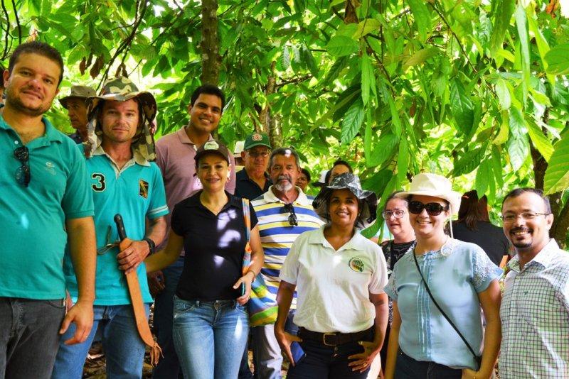 Além de palestra, a equipe da Biofábrica realizou visita de campo a quatro propriedades - Divulgação