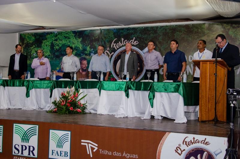 A Festa do Café Conilon reuniu 46 expositores, produtores rurais, autoridades e visitantes de municípios da região. (Imagem: Welisvelton Cabral / Clic101)