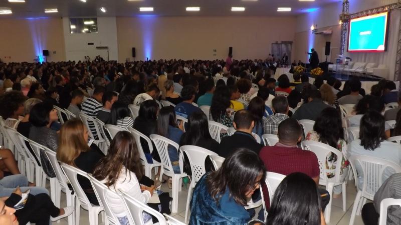 Mais de 1500 pessoas participaram do evento (