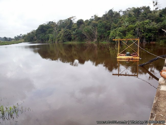 Nível de água voltou ao normal. (Foto: Rastro101)