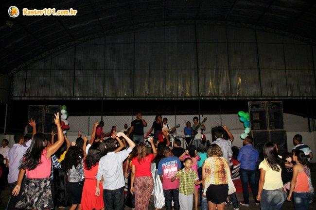 Evento reuniu vários jovens na quadra do Othoniel. (Foto: Isabelle Amaral/Rastro101)