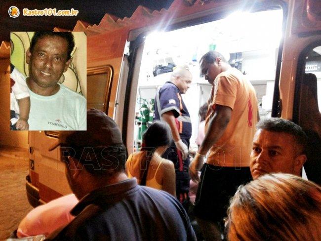 Firmiano, de 55 anos, morreu durante uma partida de futebol em Itagimirim. (Foto: Rastro101)