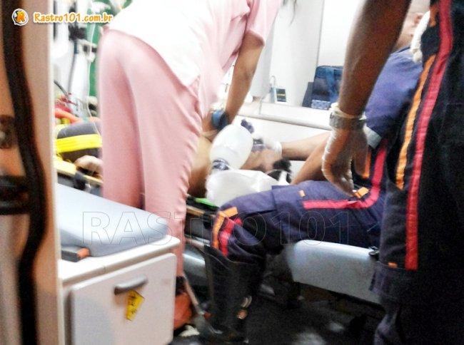 Médicos fizeram várias tentativas de reanimá-lo, mas ele já chegou ao hospital sem vida. (Foto: Rastro101)