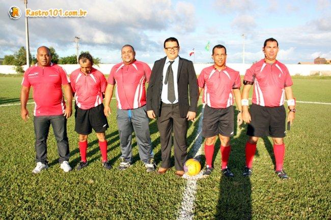 Equipe competente de árbitros do município foi elogiada durante todo o campeonato. (Foto: Rastro101)