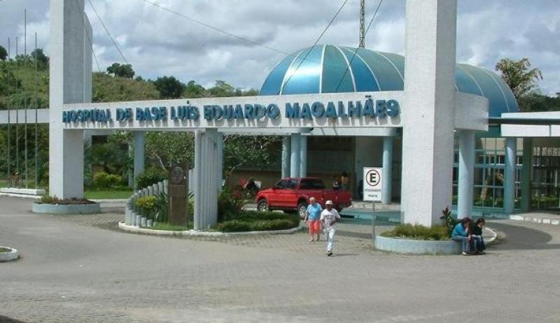 Algumas vítimas foram encaminhadas ao Hospital de Base da cidade. (Imagem: Reprodução)