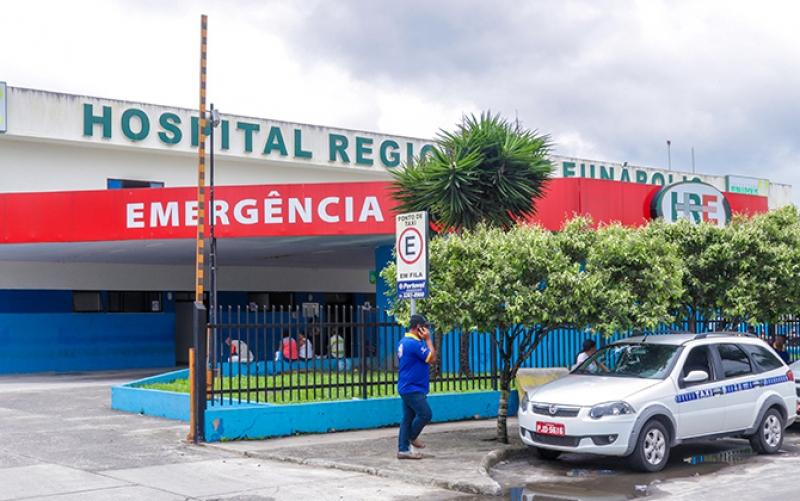 Hospital Regional de Eunápolis. (Reprodução)