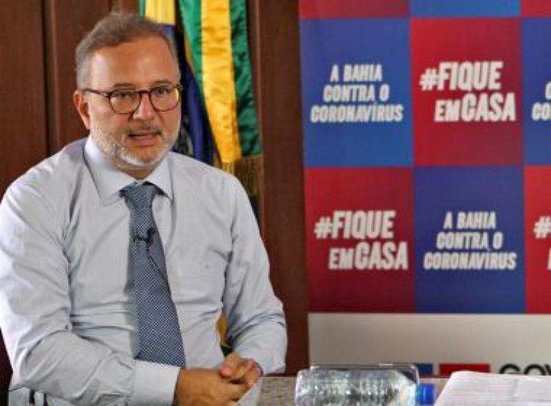 Secretário de Saúde da Bahia, Fábio Vilas-Boas. (Divulgação)