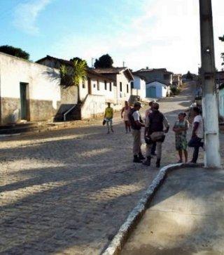 População de União Baiana está mais tranquila com a presença de policiais nas ruas. (Foto: Adson Oliveira/Rastro101)