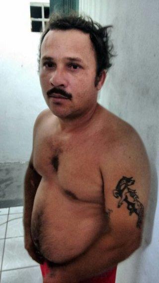 Mascate foi encaminhado para a Delegacia de Polícia a´pos agredir o próprio cunhado. (Foto: Divulgação/PM)