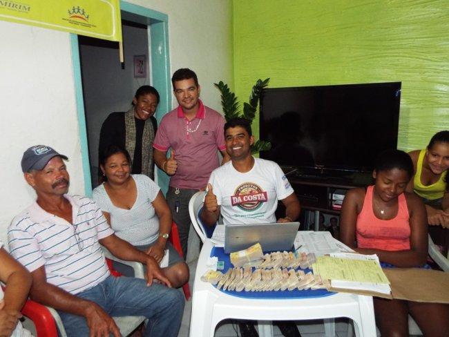 Agnevaldo Cardoso, um dos líderes responsável pelo projeto, disse estar feliz com o pagamento. (Foto: Adson Oliveira/Rastro101)