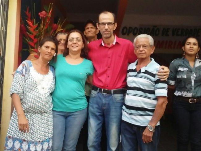 Foi eleito presidente da Comissão Executiva Municipal Francisco Alex Pinheiro Santos – Kiko. (Foto: Divulgação)