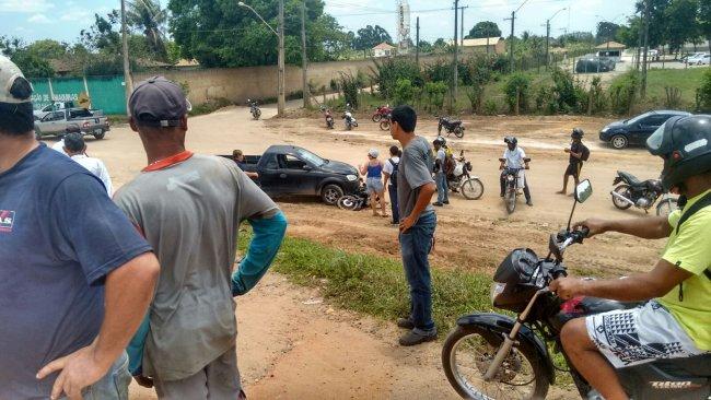 Acidente aconteceu próximo ao IFBA em Eunápolis. (Foto: Rastro101)