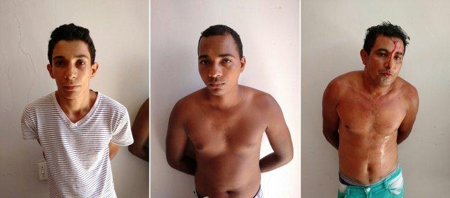 Quadrilha especializada em roubo de motos foi presa em Santo Antônio do Jacinto (MG). (Foto: Polícia Militar)