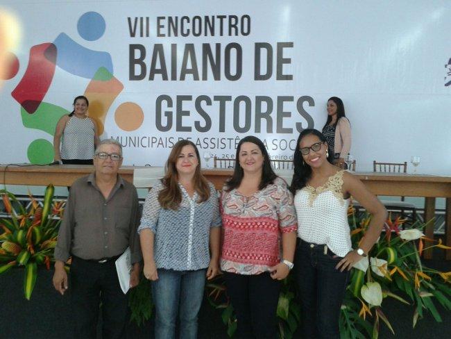 Itagimirim participou do VII Encontro Baiano de Gestores de Assistência Social (Ascom)