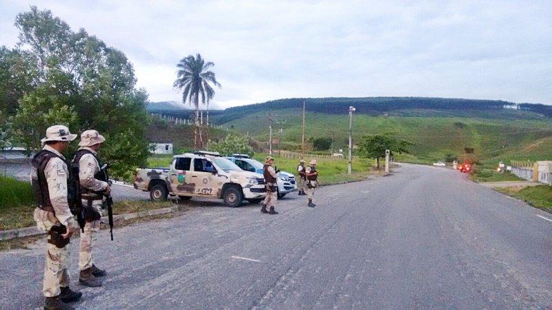 Estrada que liga Itagimirim ao Salto da Divisa possui um alto índice de assaltos. (Divulgação)
