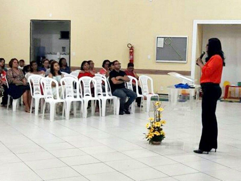 Psicopedagoga Luciene Moreira promove evento em comemoração ao Dia do Psicopedagogo (Divulgação)