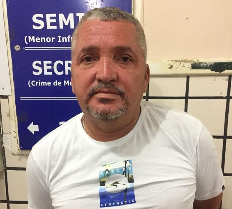 Lindorberto foi preso em flagrante por tentativa de homicídio. (Divulgação: Polícia Militar)