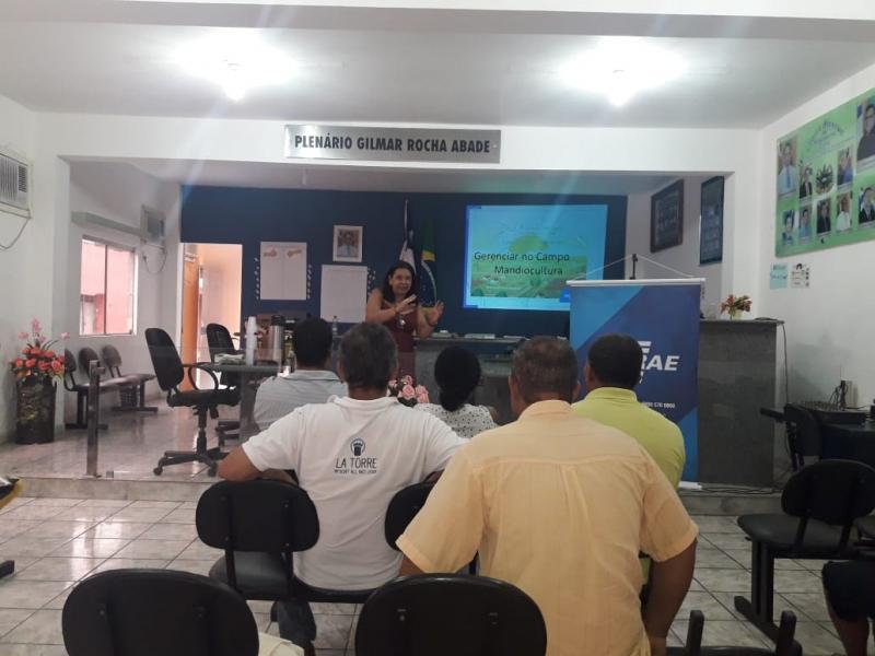 O primeiro curso foi realizado nas quatro associações de 12 a 15 de março. (Divulgação)