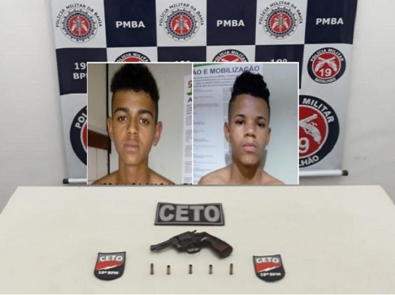 Bandidos foram identificados como Alisson e Tailan. (Imagem: Reprodução)