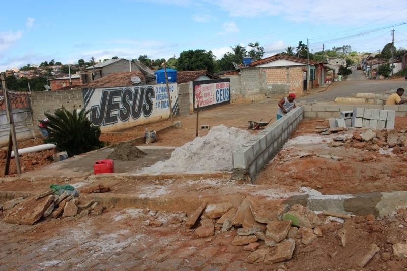 A obra tem como objetivo ofertar um novo espaço de lazer para a comunidade com mais segurança e conforto. (Ascom-Prefeitura de Itagimirim)