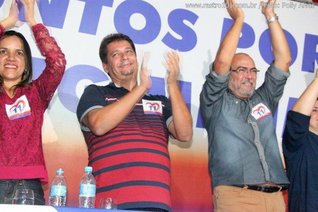 Rogério disputará a reeleição ao lado de Waltinho. (Foto: Rastro101)