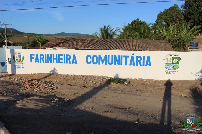 Farinheira retoma suas atividades. ASCOM-Prefeitura de Itagimirim