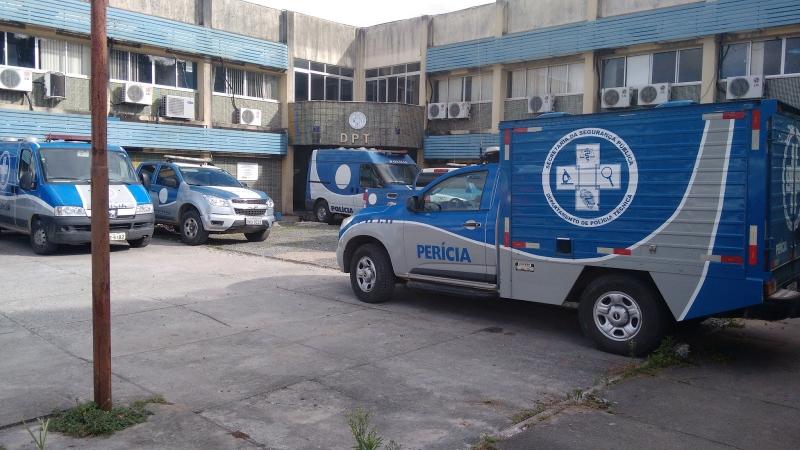 Departamento de Polícia Técnica de Feira de Santana. (Imagem: Reprodução)