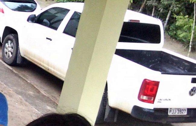 Veículo roubado na Estrada do Salto. (Arquivo/família)