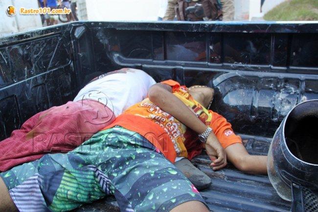 Suspeitos foram mortos em confronto com a polícia. (Foto: Rastro101)