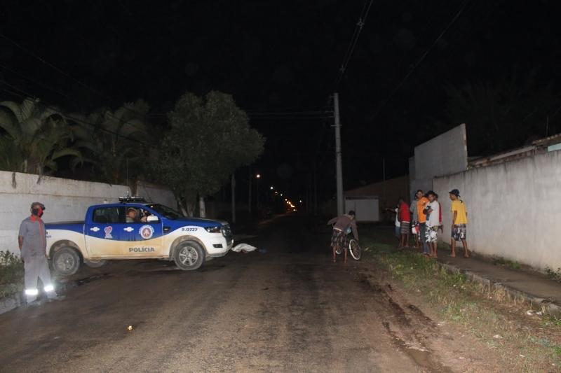 Acidente ocorreu por volta das 22h30. (Foto do site Radar64